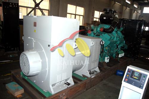我公司1000KW高压康明斯发电机组开始组装生产 公司新闻 第2张