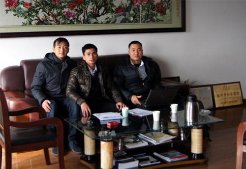 泰国客户来访我公司工厂订购多台康明斯发电机组 公司新闻