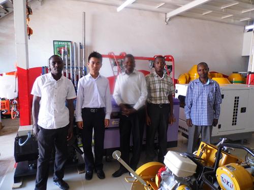 凯华外贸团队前往非洲与客户恰谈发电机组 公司新闻 第4张