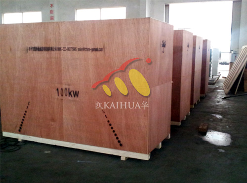 青海市政5台沃尔沃柴油发电机组成功出厂 发货现场 第2张