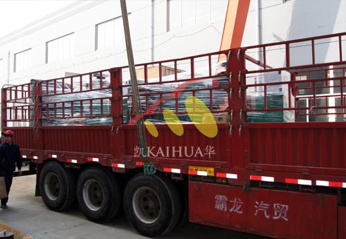 四川房产两台康明斯发电机组成功出厂 发货现场 第2张