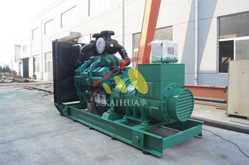 江西水泥800KW康明斯发电机组成功出厂 发货现场 第1张