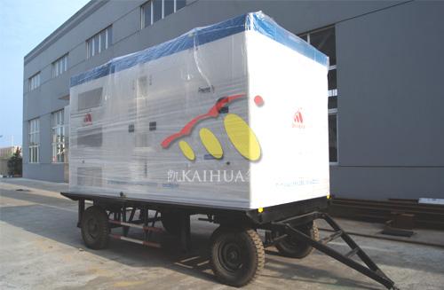 江苏建筑500KW康明斯柴油发电机组成功出厂 发货现场 第1张