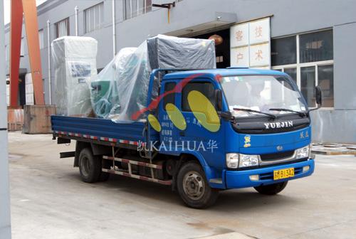 广东医院500KW全自动康明斯发电机组成功出厂 发货现场 第2张