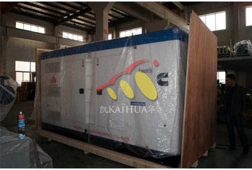 新疆油田500KW静音发电机组成功出厂 发货现场 第1张
