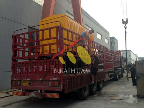 河南养殖500KW移动康明斯发电机组成功出厂 发货现场 第2张