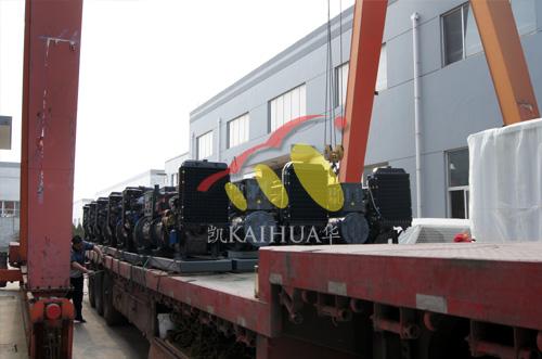 山东水利30台潍柴柴油发电机组成功出厂 发货现场 第3张