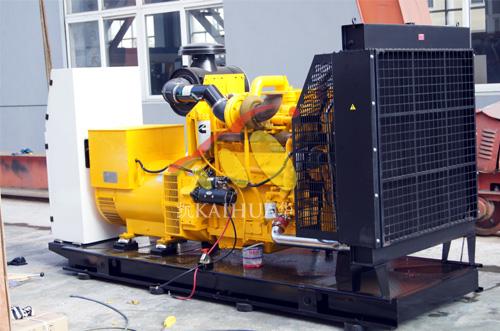 出口迪拜的两台康明斯全自动发电机组成功出厂