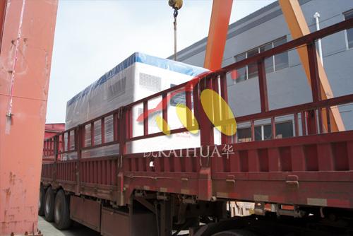 山东房产500KW静音发电机组成功出厂 发货现场 第1张