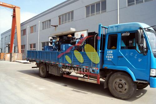 上海城建三台200KW康明斯发电机组成功出厂 发货现场 第2张