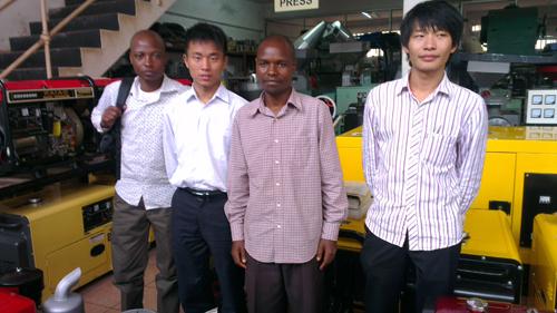 凯华外贸团队前往非洲与客户恰谈发电机组 公司新闻 第3张