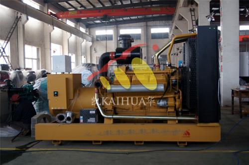 山东房产500KW上柴发电机组成功出厂 发货现场 第1张
