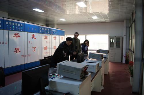 俄罗斯客户来访我公司验收船用发电机组 公司新闻 第2张