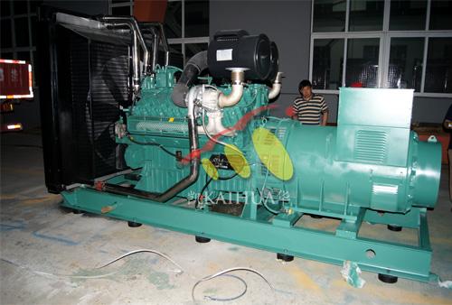 山东农业800KW无动柴油发电机组成功出厂 发货现场 第1张