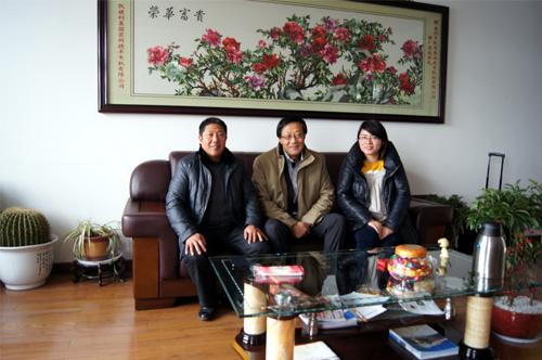 马来西亚客户来访我公司签订多台发电机组 公司新闻 第1张