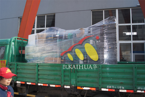河南建材500KW康明斯发电机组成功出厂 发货现场 第1张