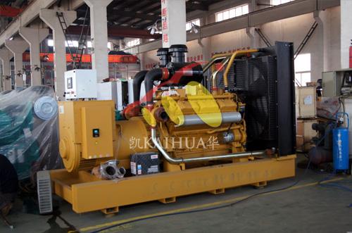 山东房产500KW上柴发电机组成功出厂 发货现场 第2张