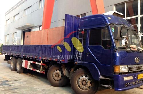 出口印尼的5台康明斯发电机组成功出厂 发货现场 第2张