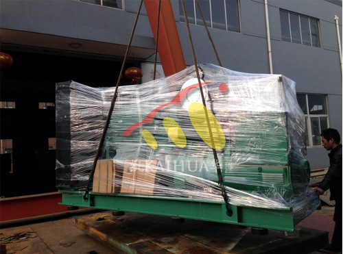 北京人防两台400KW康明斯发电机组成功出厂 发货现场 第1张
