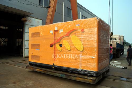 出口孟加拉的400KW沃尔沃发电机组成功出厂 发货现场 第1张
