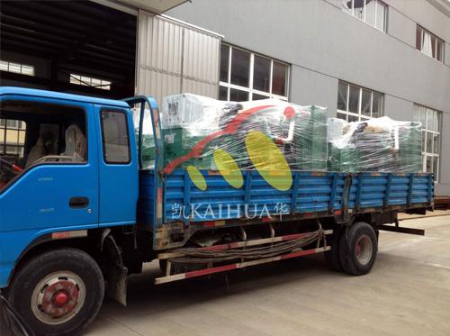 出口安哥拉的6台康明斯发电机组成功出厂 发货现场 第2张