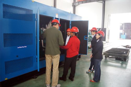 南非客户来访我公司工厂签订多台发电机组 公司新闻 第1张