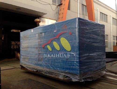 出口俄罗斯的500KW大宇发电机组成功出厂