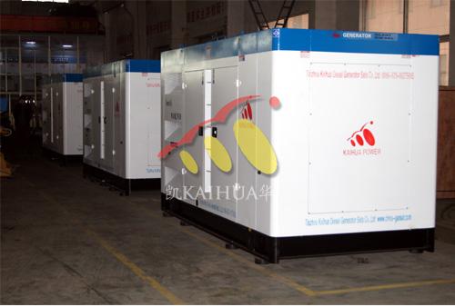 出口苏丹的3台300KW沃尔沃发电机组成功出厂 发货现场 第1张