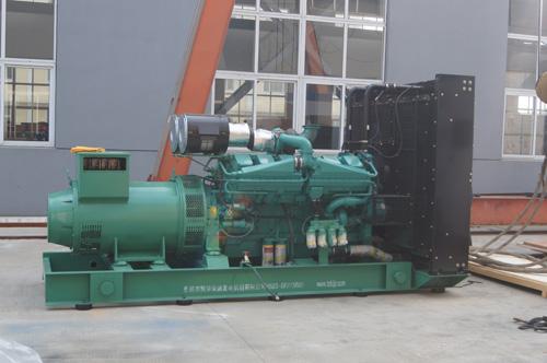 湖北房地产1000KW康明斯发电机组成功出厂 发货现场 第2张