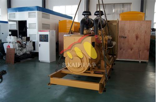 江西房产500KW全自动上柴发电机组成功出厂 发货现场 第1张