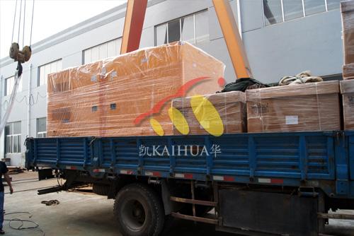 出口孟加拉的400KW沃尔沃发电机组成功出厂 发货现场 第2张