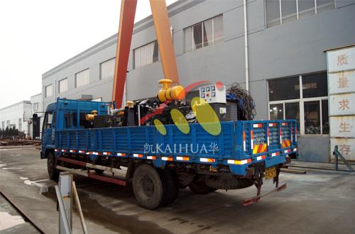 安徽牧业9台小型柴油发电机组成功出厂 发货现场 第1张