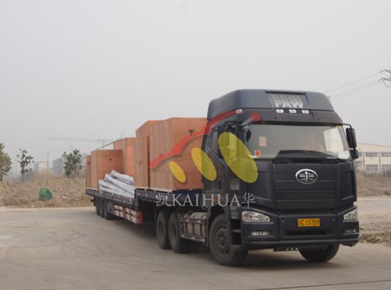 二十多台发电机组成功出厂发往马来西亚 发货现场 第4张