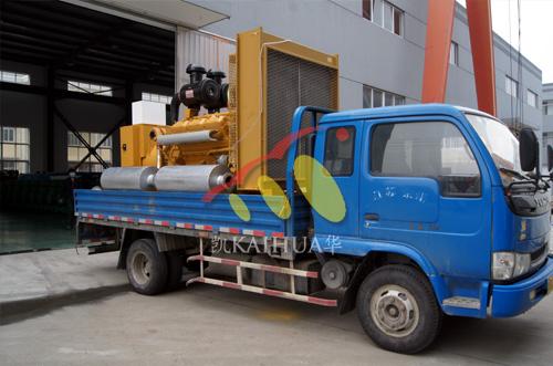 南京房产500KW上柴发电机组成功出厂 发货现场 第2张