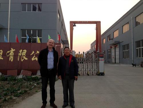 俄罗斯客户来我公司工厂验收发电机组 公司新闻 第1张