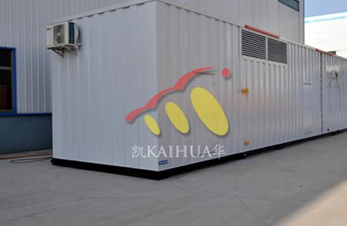 山西煤矿1500KW康明斯集装箱机组成功出厂