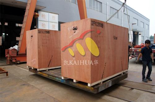 出口柬埔寨的四台静音康明斯发电机组成功出厂