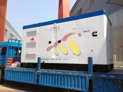 江苏港口500KW康明斯发电机组成功出厂 发货现场 第1张