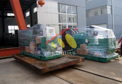四川房产两台康明斯发电机组成功出厂 发货现场 第1张
