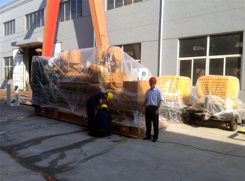 河北畜牧1000KW济柴柴油发电机组成功出厂