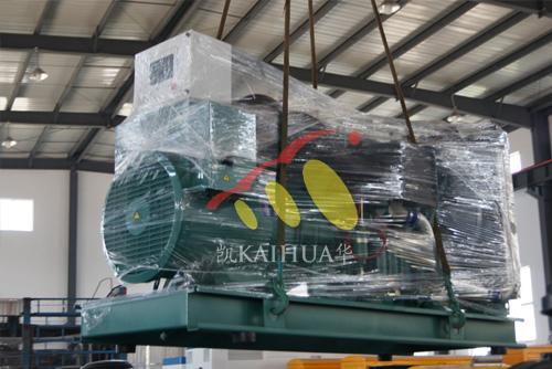 长庆油田500KW沃尔沃柴油发电机组成功出厂 发货现场 第2张
