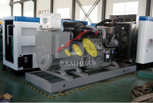 青海油田500KW珀金斯发电机组成功出厂