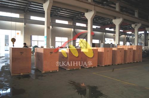 出口安哥拉的8台小功率发电机组成功出厂 发货现场 第2张
