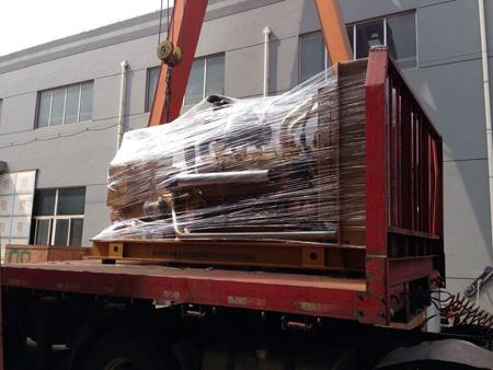 三台500KW上柴柴油发电机组发往浙江矿业 发货现场 第2张