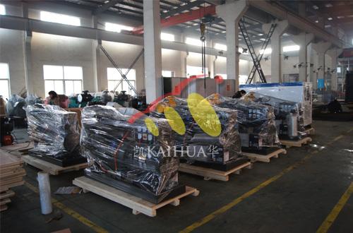 出口安哥拉的8台小功率发电机组成功出厂 发货现场 第1张