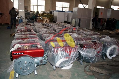 河南水利180台小型发电机组开始装配 公司新闻 第2张