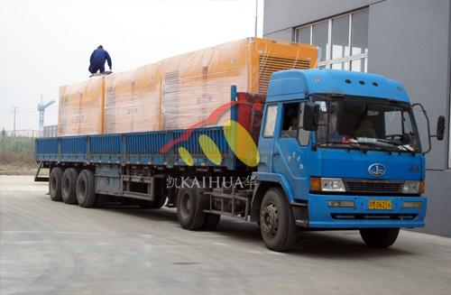 出口新加坡的3台500KW康明斯发电机组成功出厂 发货现场 第3张