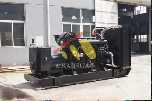 安徽化纤600KW上柴发电机组成功出厂 发货现场 第1张