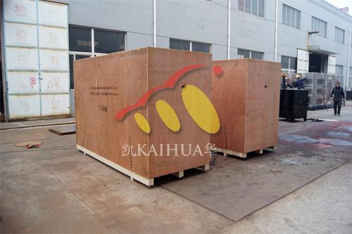 出口乌克兰2台100KW康明斯静音机组今日成功出厂 发货现场 第2张