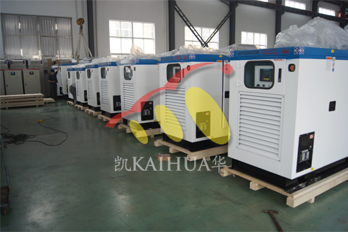出口欧洲14台发电机组今日成功出厂 发货现场 第1张